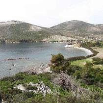 Die Bucht von Agios Fokas