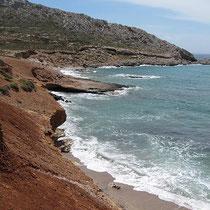 Pserimos' Küste