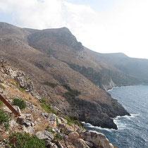 Kythiras Westküste