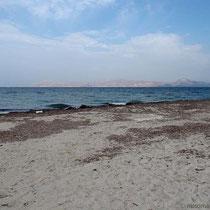 Am Strand von Mastichari - Blick nach Pserimos