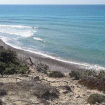 Strand bei Agios Theologos