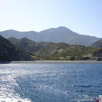 Karpathos:  Abfahrt von Forokli
