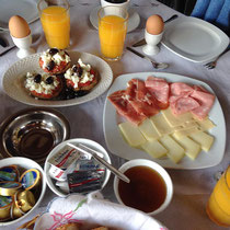 Frühstück bei Nana