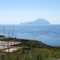 Pollara - Blick nach Filicudi