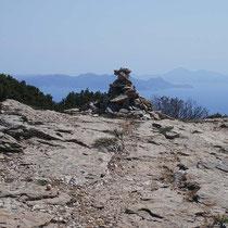 Steinmännchen am Pass