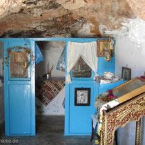 Kasos: Höhlenkapelle