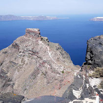 Der Skaros-Felsen