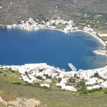Amorgos: Katapola mit Scopelitis