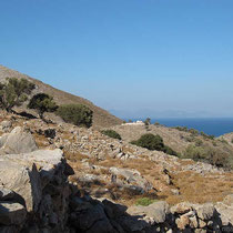 Blick auf die Kapelle Agios Ioannis
