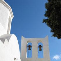 Agios Andreas - der Wind läutet die Glocken