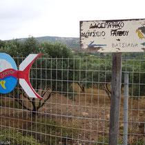 Gavdos: Kreuzung nach Vatsiana, Europas südlichstem Dorf