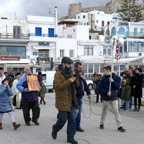 Lautsprecher ist immer wichtig in Griechenland