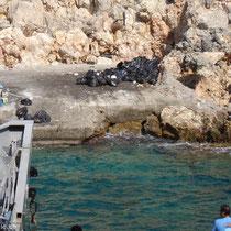 Kreta: Müllplatz von Loutro