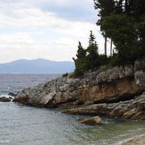 Beim Leverechia-Strand