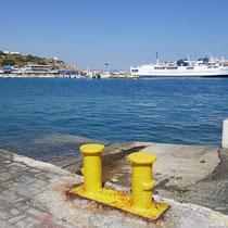 Der Hafen von Rafina