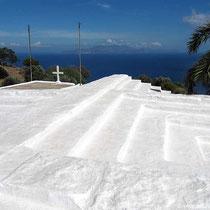 Kirchendach mit Aussicht