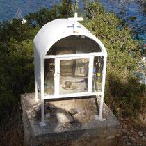 Kreta: Ikonostasi über Loutro