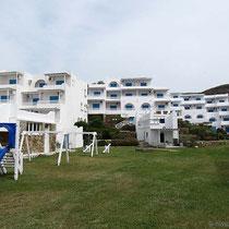 "Nebenhäuser des ""Tinos Beach Hotel"""
