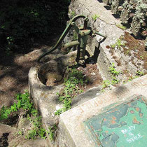 Pumpe an der Rifugio Monte Fossa