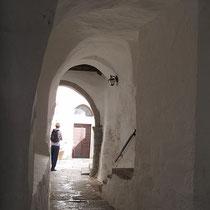Durchgang im Kloster