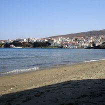 Andros: Am Nimborio-Strand