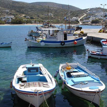 Im Hafen von Agios Stavros