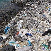 Plastik-Strand
