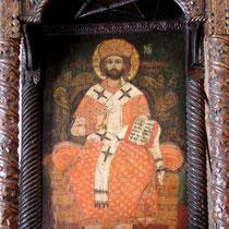 Karpathos: Ikone in der Kirche in Olymbos