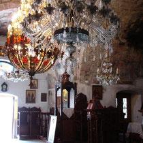 Karpathos: In der Kirche  in Olymbos