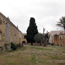 Verlassener Innenhof