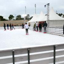 Und die Eisbahn