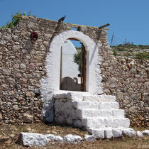 Das Tor zu Agios Charalambos
