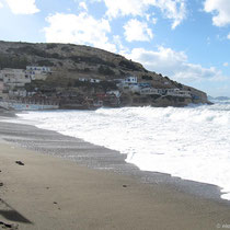 Der Strand von Matala