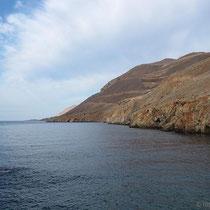 Letzte Blick die Küste entlang...