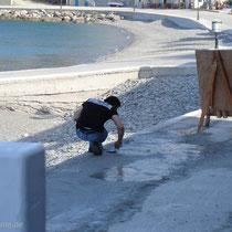 Karpathos: Ausbesserungsarbeiten