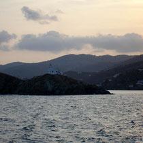 Kythnos: Einfahrt in den Hafen
