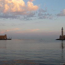 Sonnenaufgang in Chania