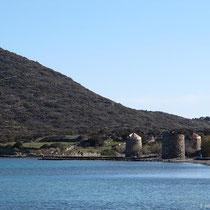 Die Windmühlen bei Olous