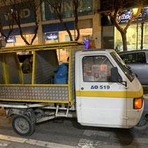 Städtisches Müll-Dreirad