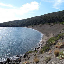 Der Strand von Pacia Ammos