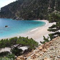 Die Bucht von Apella