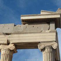 Detail am Erechtheion