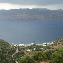 Klima und die Bucht von Milos