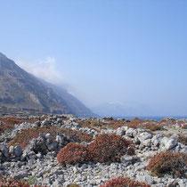 Karpathos: Blick von Vrougounda/Agios Iannis