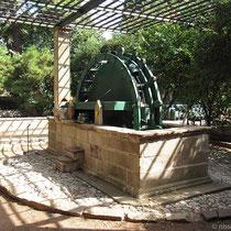 Wasserrad am Zitrus-Museum