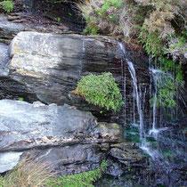 Andros: Wasserfall bei Mavro Gourna