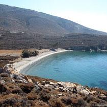 Der Strand von Lia