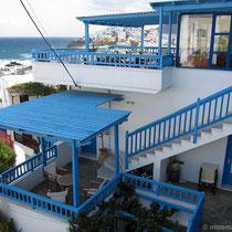 Blick vom Balkon, später als es trocken ist