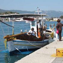 Fischer an der Platian Iroon