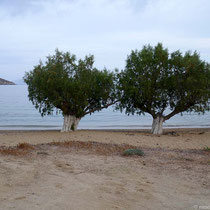 Drückende Stimmung am Strand von Livadakia